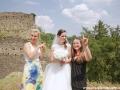 Svatba Tomáš Jiras Plzeň červen 2016 hrad Buben (27)